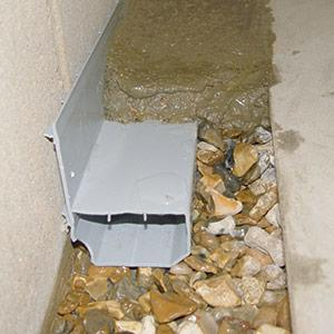 The WaterGuard® basement drain system