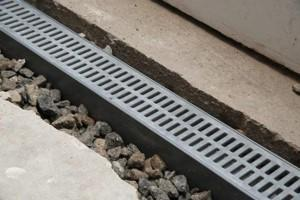 grated drain system