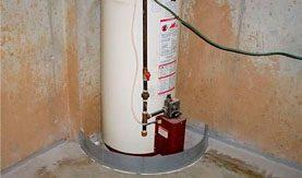 LEAKY WATER HEATER?