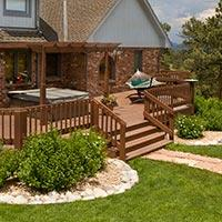 Your deck project can be a customized design that is built to last.