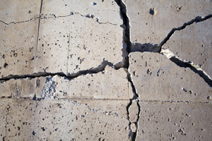 Repairing foundation cracks and reducing radon in Kelowna