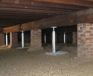 Sagging Crawl Space Repair In Knoxville Johnson City