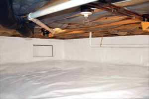 CleanSpace® crawl space encapsulation