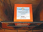 Crawl-o-sphere installed in crawl space