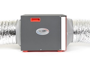 SaniDry Sedona ducted dehumidifier