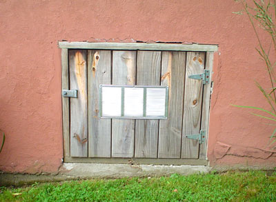 Perfect Before And After Look Of Crawl Space Door ...