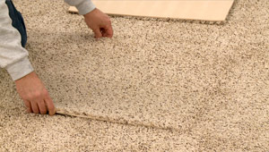 Easy basement carpet installation u0026 replacement with Pro Comfort & Pro Comfort Carpeting is the best waterproof basement carpeting ...