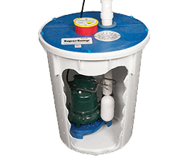 SuperSump® sump pump system