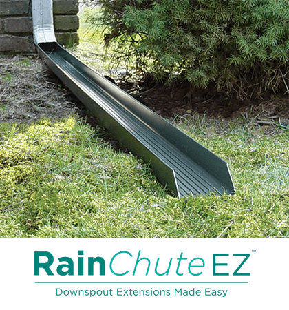 Downspout Extensions Rainchute And Rainchute Ez