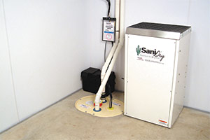 Beautiful Sanidry Xp Basement Air System