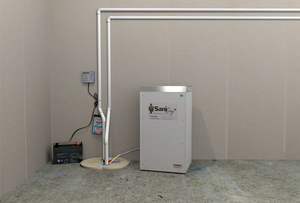 ... SaniDry™ XP Basement Dehumidifier & SaniDry XP™ Basement Dehumidifier u0026 Air Filtration System
