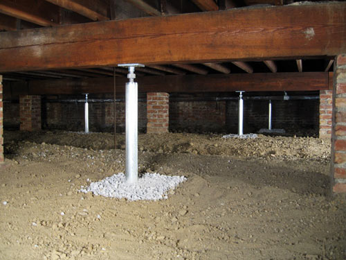 Smartjack Crawl Space Stabilizer Adjustable Floor Joist
