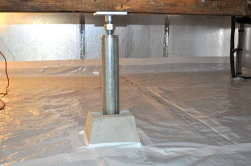 ... SmartJack® Crawl Space Support System