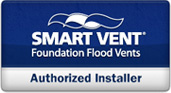 SmartVent® Foundation Flood Vents authorized dealer