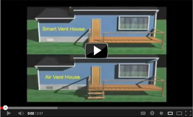 SmartVent® Flood Vents can prevent your foundation from collapsing in a flood
