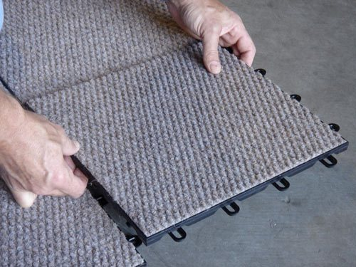 TheramlDry Carpeted Basement Flooring Mold Waterproof