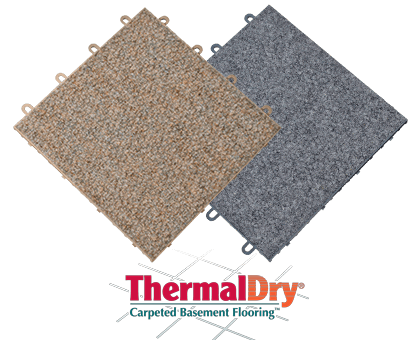 ThermalDry® Basement Carpeting