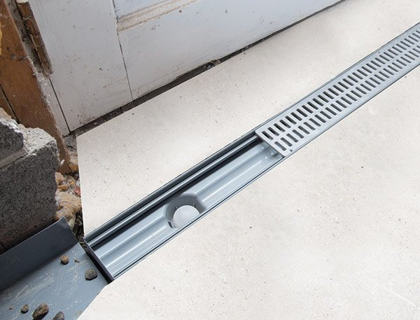 Trenchdrain Basement Amp Garage Entry Drainage
