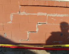 Repaired Cracked Wall CO