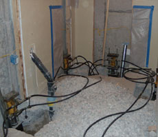 Basement Installation Process CO