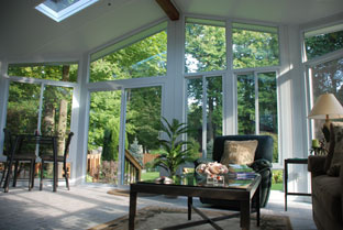 Sunroom construction in Lancaster
