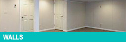Finished Basement Walls by Appleby Systems