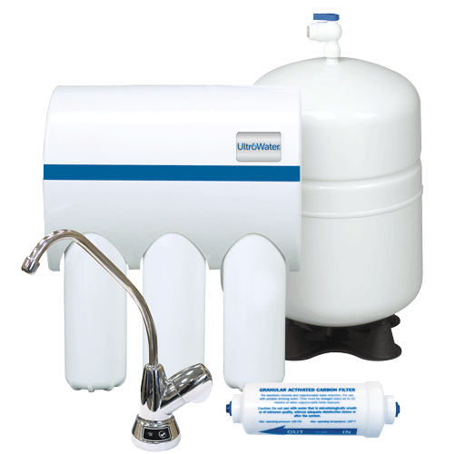 UltroWater reverse osmosis system