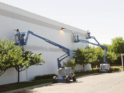 Our professional, commercial painters at work