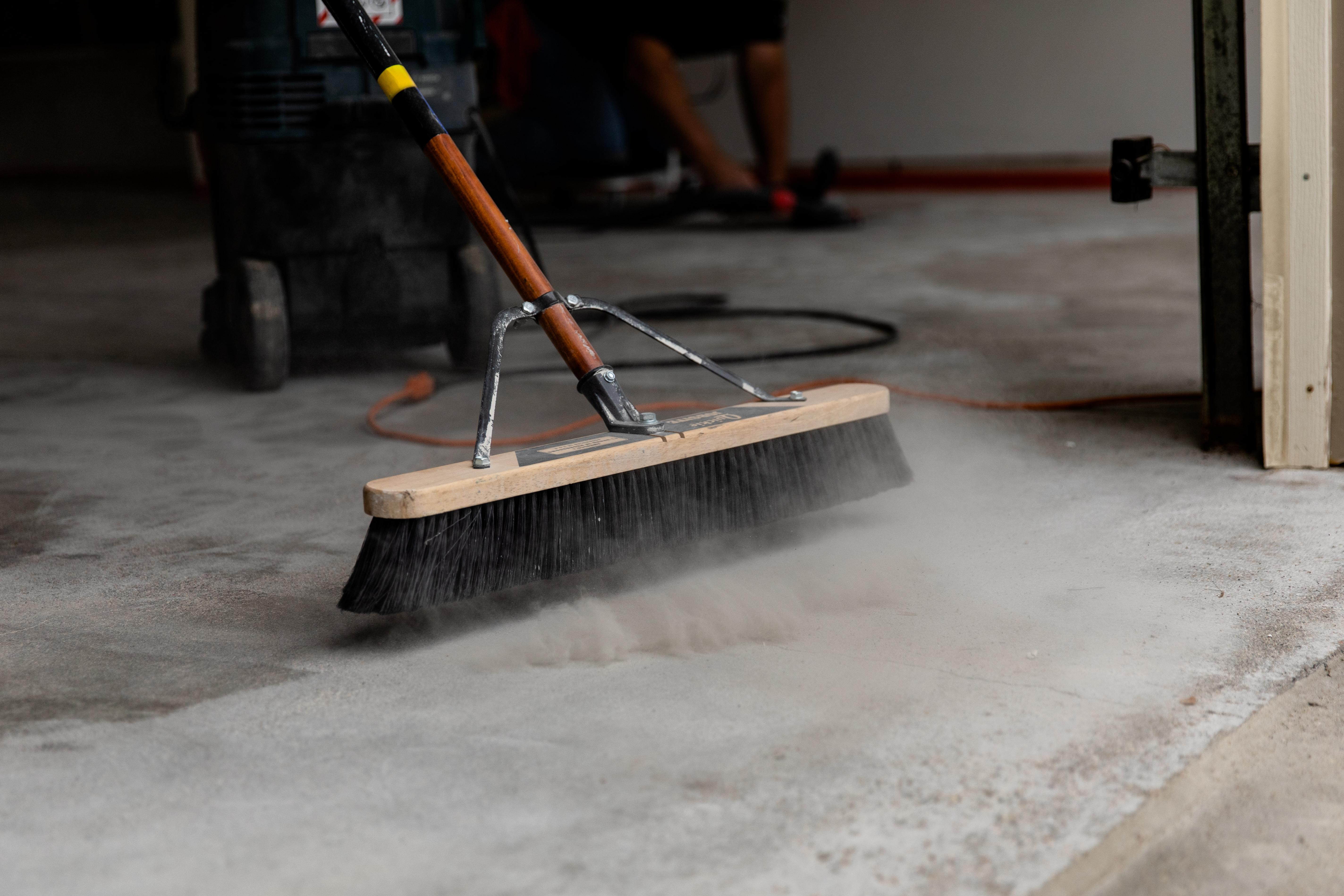 Giving your garage a beautiful, durable new floor coating will be just the thing kick to your garage reclamation project...