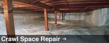 We Are Greater Ontario Crawl Space Repair Experts! - Learn More
