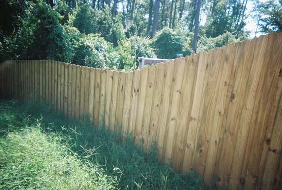 wood fence installation in Lutz