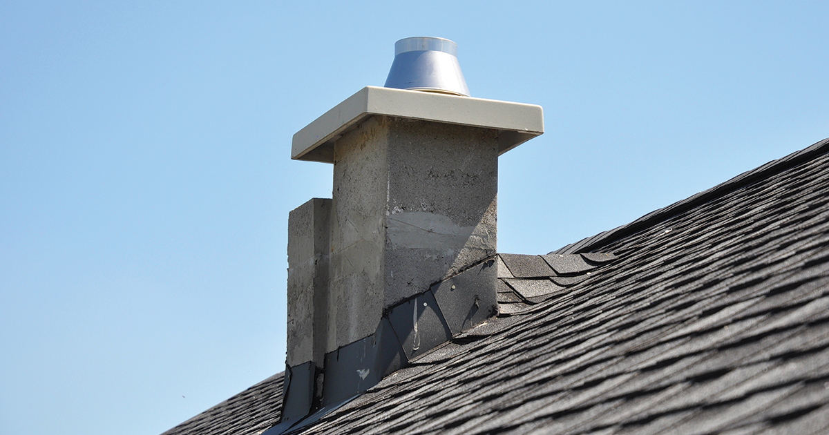 [chimney with cap]