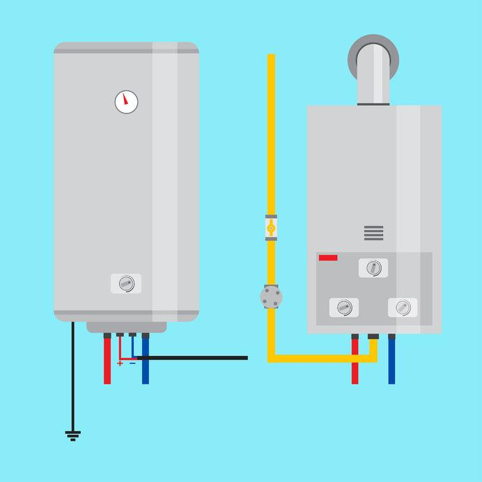 If you're in the market for a new hot water heater, you may be stuck trying to choose between purchasing...