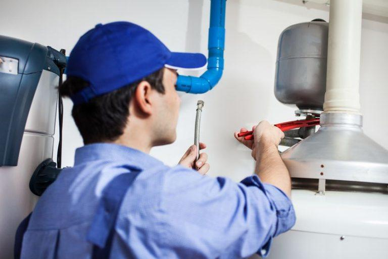 water heater repair technician