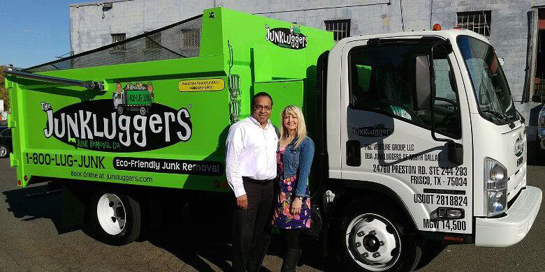 The Junkluggers has opened its first franchise in Texas! Owners Pete & Cynthia Ybarra will provide eco-friendly junk removal services...