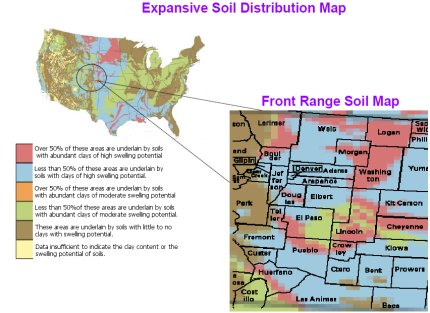 Front Range Soil Map