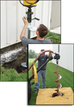 foundation repair contractors in Fort Mysers Shores