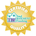 Total Basement Finishing Certified Quality