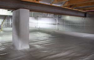 VaporLock Elite Crawl Space Sealing