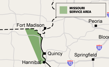 Missouri Service Area