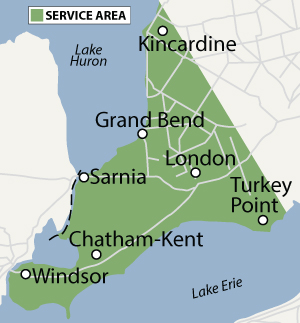 Coverage Area: Southwestern Ontario