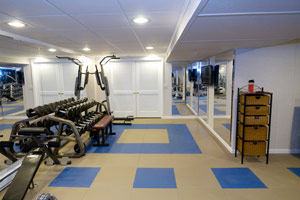 home gym lighting. after lights ceiling walls mirrors and a creative approached to flooring home gym lighting