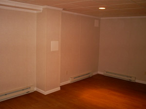 Basement Heating. Electric baseboard heaters ... & Heating Options for a Finished Basement | Options for Heating Your ...
