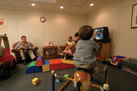 Beau Basement Playroom