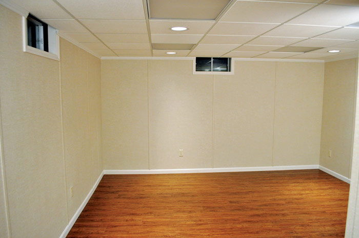Finished Basement Wall Panels : Basement wall finishing systems total