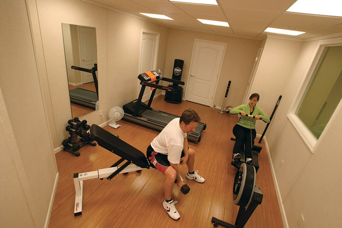 Home Gym Ideas: Designing a Home Gym in Your Finished Basement