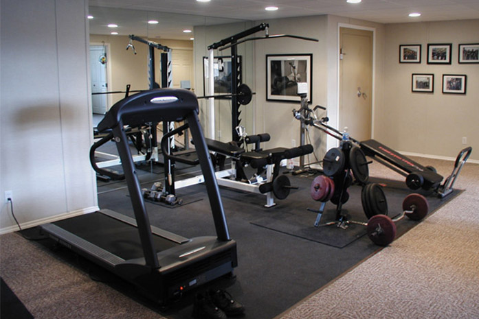... Using Your Finished Basement As A Gym ...