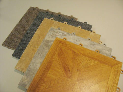 Thermaldry floor tiles basement flooring systems for Modular basement flooring