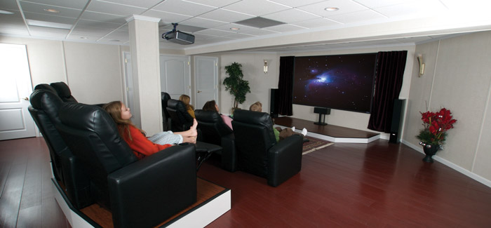 Home Theater Ideas Designs Total Basement Finishing Best Basement Home Theater Design Ideas Property