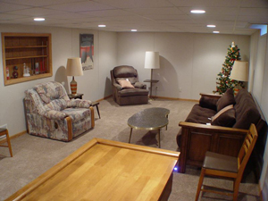 Basement Finishing Ideas - Family Room